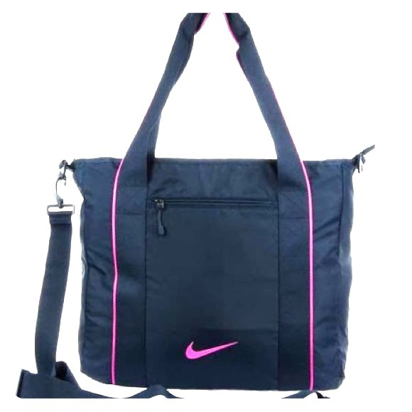 Nike Legend Track Tote Bag 2.0 Navy Blue Pink